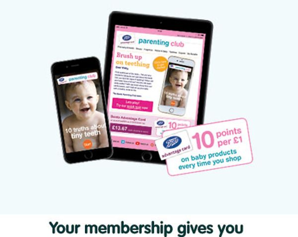 cc781f4fd865 10 points per £1 on baby products