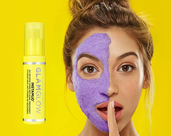 GLAMGLOW INSTAMUD™. 60 second pore-refining treatment for glowing skin