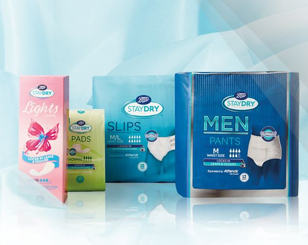Incontinence | Lifestyle & Wellbeing - Boots