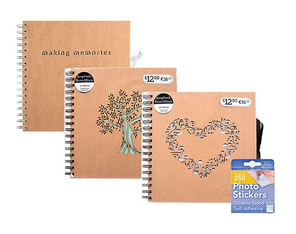 Photo Albums   Wedding Albums   Scrapbooks - Boots