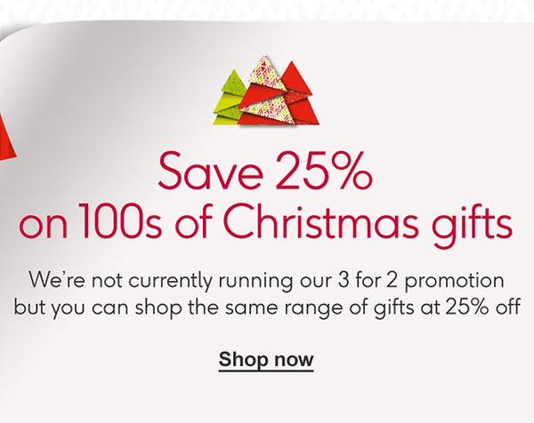 Christmas In About Three Minutes.3 For 2 Mix Match Christmas Gifts Christmas Shop Boots