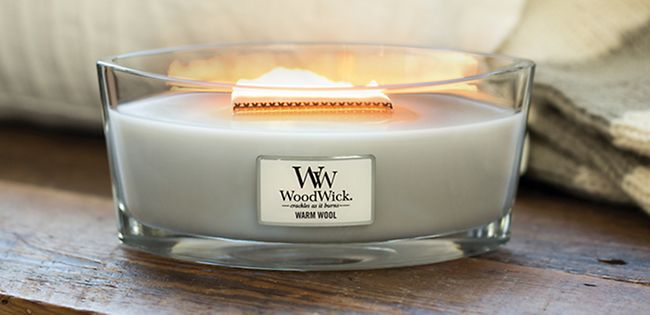 Image result for woodwick warm wool