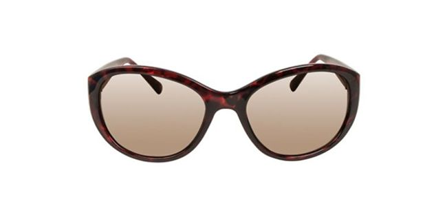 Brown patterned sunglasses