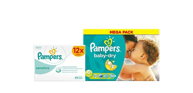Packs of nappies