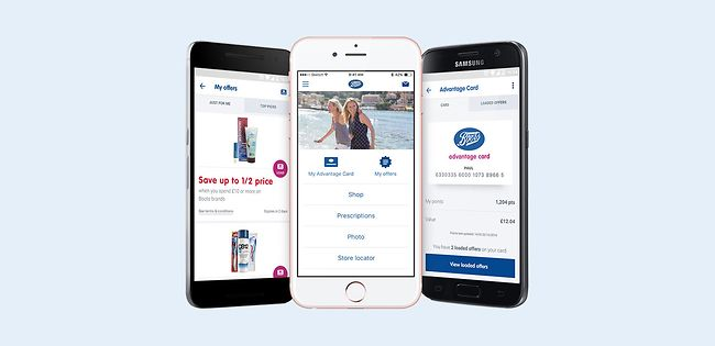 Boots app images