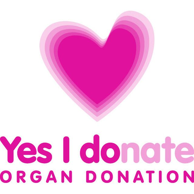 organ donor logo