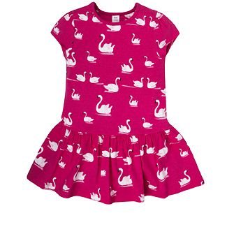 Girls Swan Dress