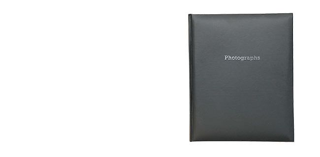 Self-adhesive photo albums