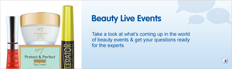 Past Beauty events
