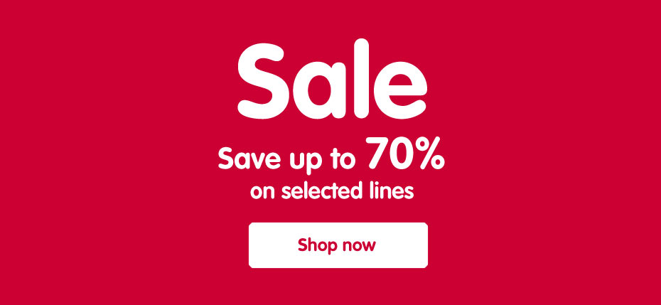Sale - Save up to 70% on selected lines
