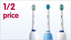 on selected Oral B