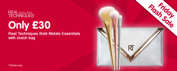 Real Techniques Bold Metals Essentials set only thirty pounds