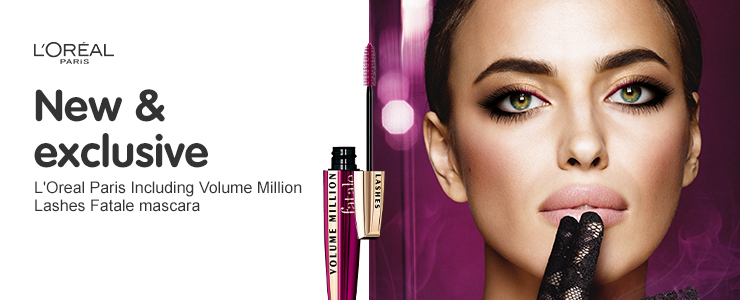 New and exclusive loreal volume million lashes fatale mascara