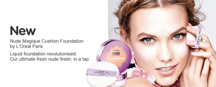 New LOreal cushion foundation