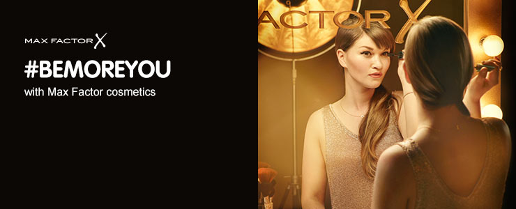 Max Factor be more you. Upload your max factor looks here