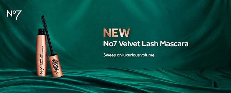 new no7 velvet lash mascara