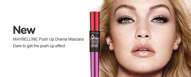 New Maybelline push up mascara