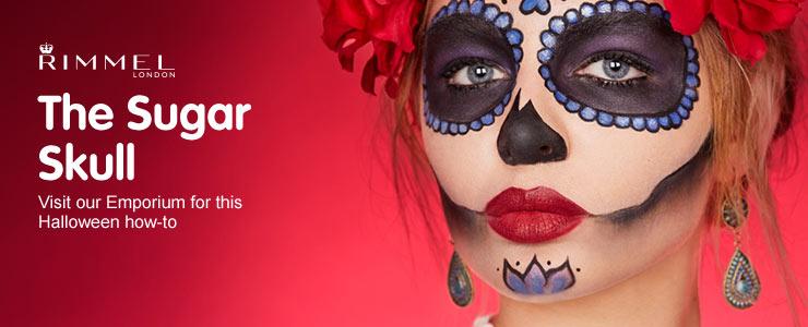 Rimmel Sugar Skull Halloween makeup tutorial