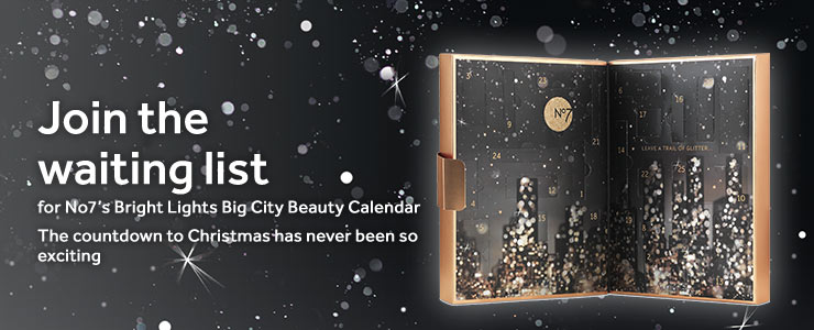Join the waiting list for the No7 Advent Calendar