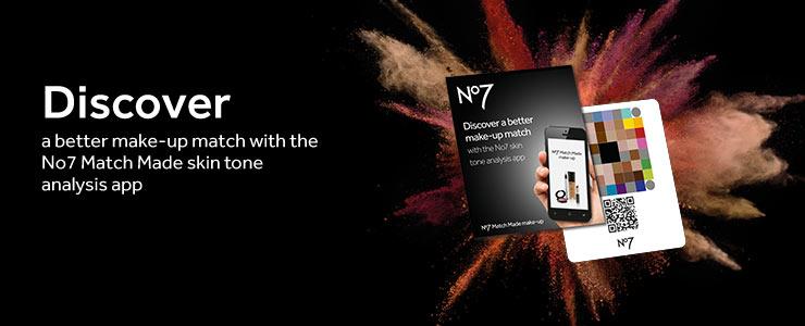 Discover the No7 Match Made App