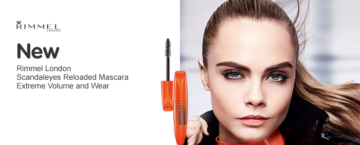 New Rimmel London Scandaleyes Reloaded mascara