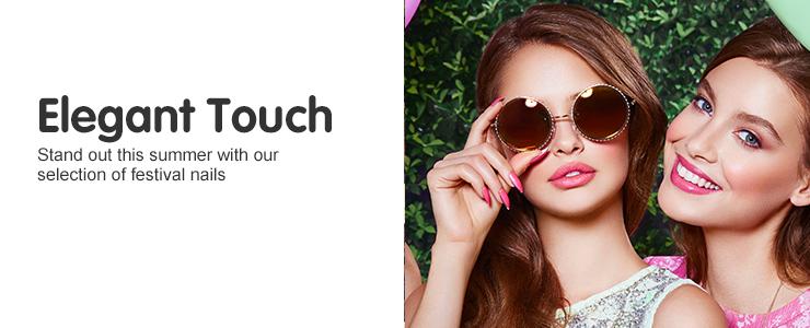 Elegant Touch festival nails