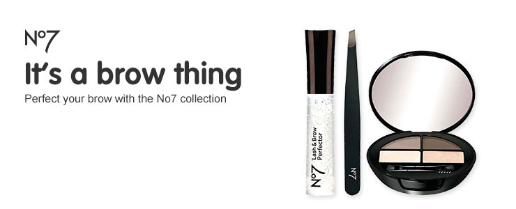 No7 it's a brow thing