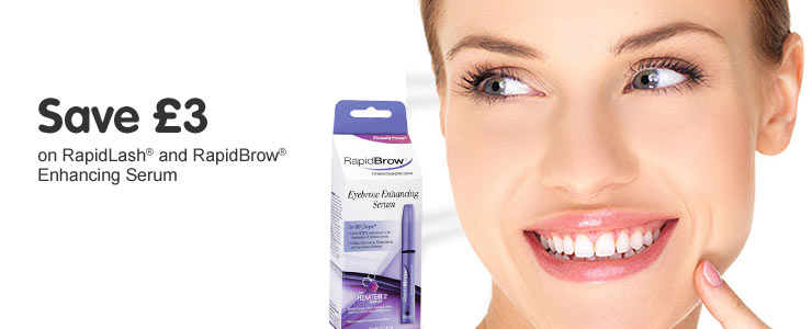 save a third on rapid lash and rapid brow