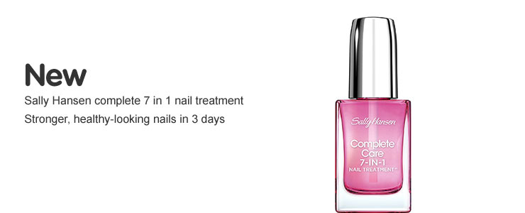 New Sally Hansen 7 in 1 nail treatment