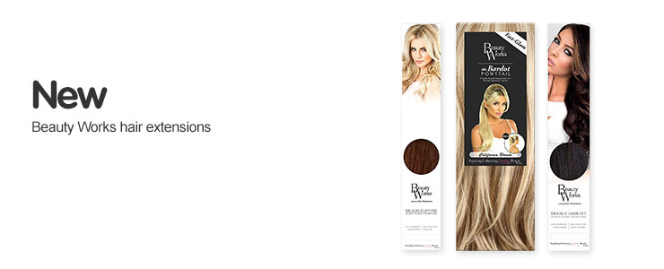 Discover the new Beauty Works Hair Extension range