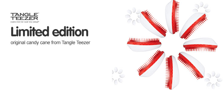 New limited edition tangle teezer candy cane detangler