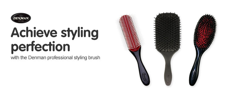 Achieve styling perfection with the Denman Professional Styling Brush Range