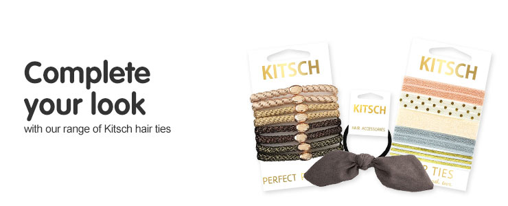 Complete your look with our range of Kitsch hair ties