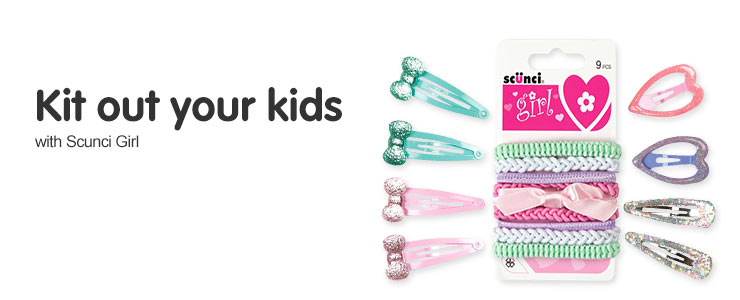 Kit out your kids with Scunci Girl