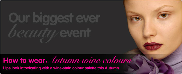 How to Wear This Autumn Wine Colours
