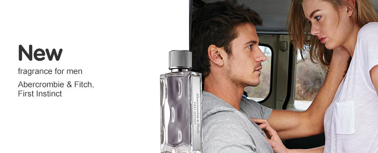 New Abercrombie & Fitch First Instinct