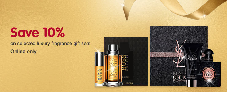 Save 10% on selected luxury gift sets