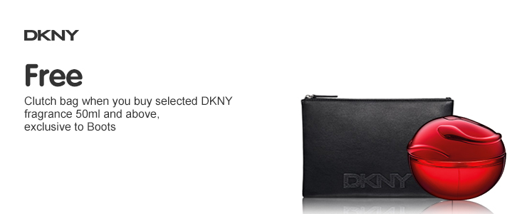 DKNY Be Tempted clutch bag