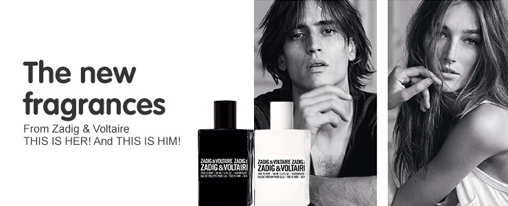 The new fragrance from Zadig & Voltaire