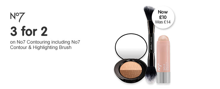 Three for two on selected number seven including contouring