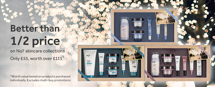 New number seven skincare collections better than half price