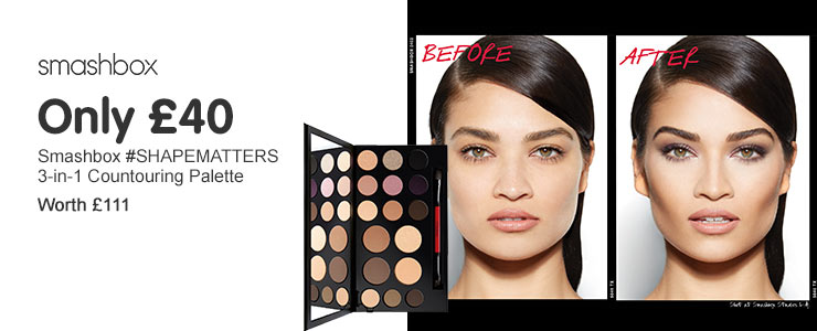 Only £40, Smashbox #SHAPEMATTERS Palette