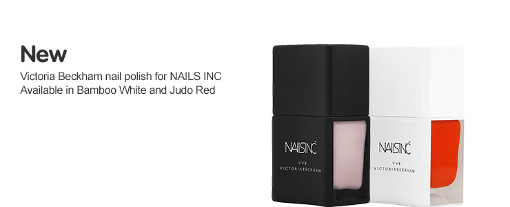 New Victoria Beckham nail polish for NAILS INC