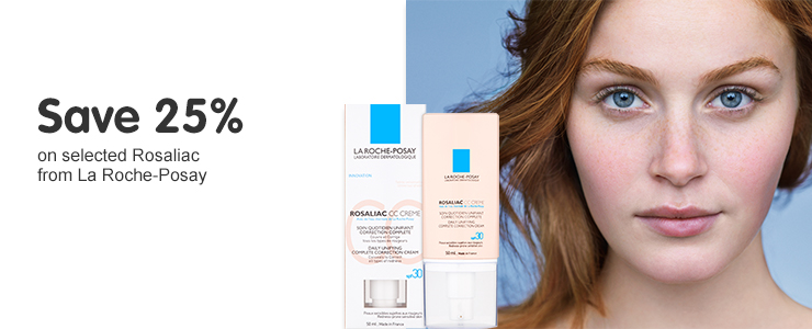Save 25% on Rosalic from La Roche-Posay