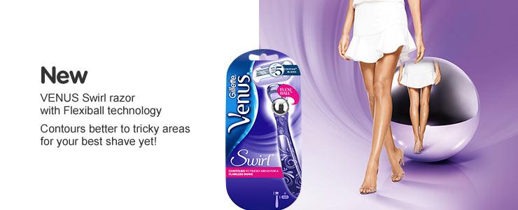 New Venus Swirl with flexiball technology