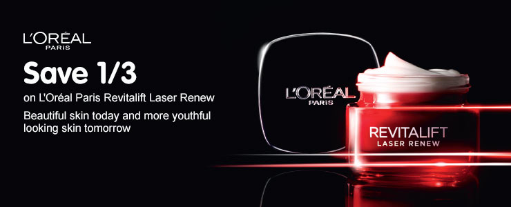 Save up to half price on loreal rosy glow