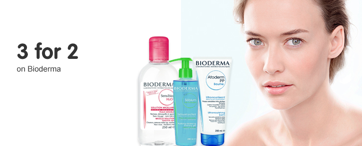 Three for two on Bioderma