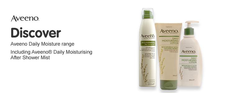 Discover the Aveeno Daily Moisture Range