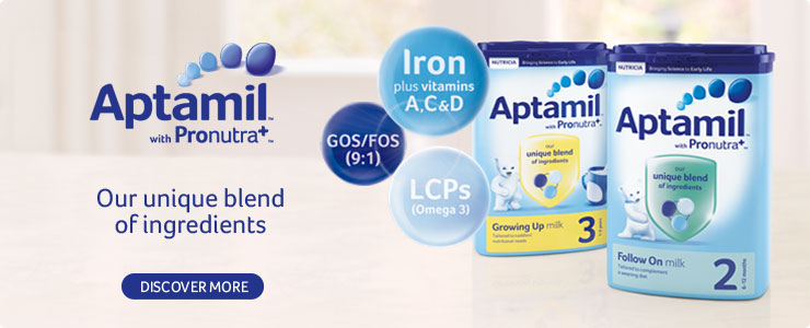 Aptamil milks with pronutra+