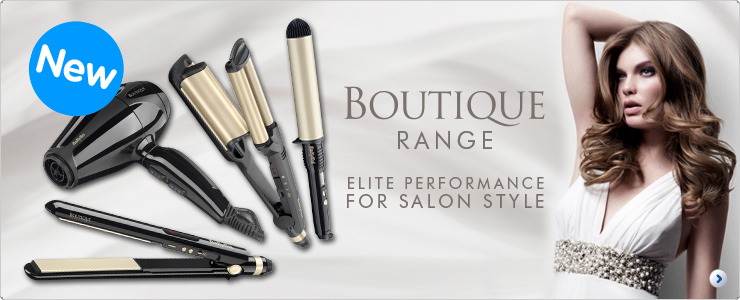 BaByliss Boutique electrical hair styling